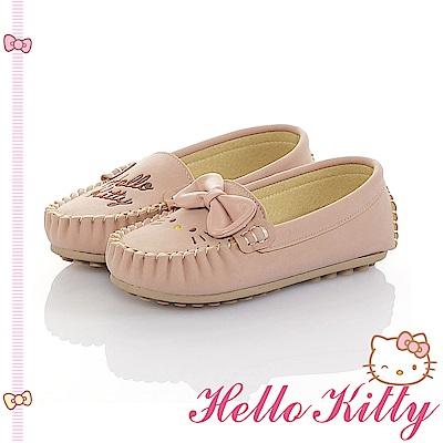 HelloKitty 親子手工鞋-不對稱輕量休閒童鞋-粉