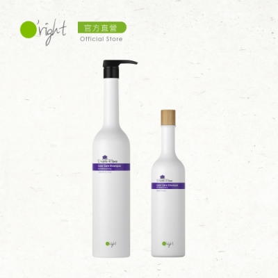 O right 歐萊德 冬季髮絲修護組-紫玫瑰洗髮精兩入 1000ml+400ml
