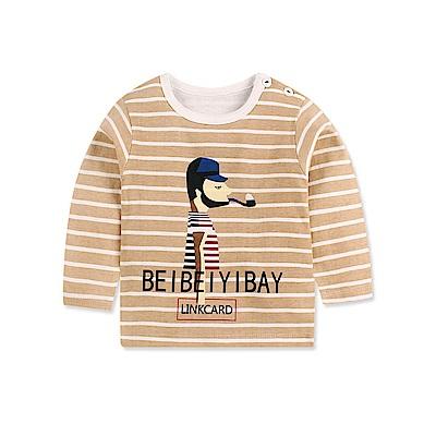baby童衣 長袖上衣 寶寶長袖T恤88019