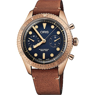 Oris 豪利時 Carl Brashear 青銅限量計時機械錶