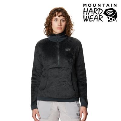 【美國 Mountain Hardwear】Monkey Woman2 Pullover 保暖刷毛立領套頭上衣 女款 深風暴灰 #1902501