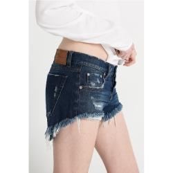 ONETEASPOON BANDITS 深藍牛仔短褲