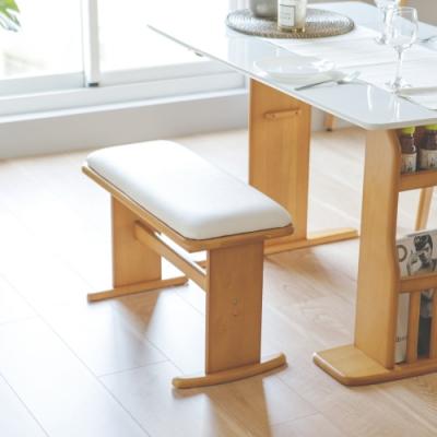 Home Feeling 日式簡約長凳/椅子/長椅/雙人椅凳