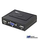 日本RATOC 2-Port VGA USB電腦KVM切換器 (REX-230U)