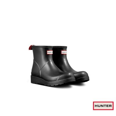 HUNTER - 女鞋 - PLAY星雲短靴 - 黑