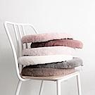 BUNNY LIFE 兔絨圓形記憶棉坐墊/椅墊 (5色可選)