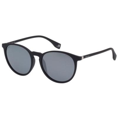 POLICE- 偏光片 水銀面 太陽眼鏡 (黑色)PE-983I