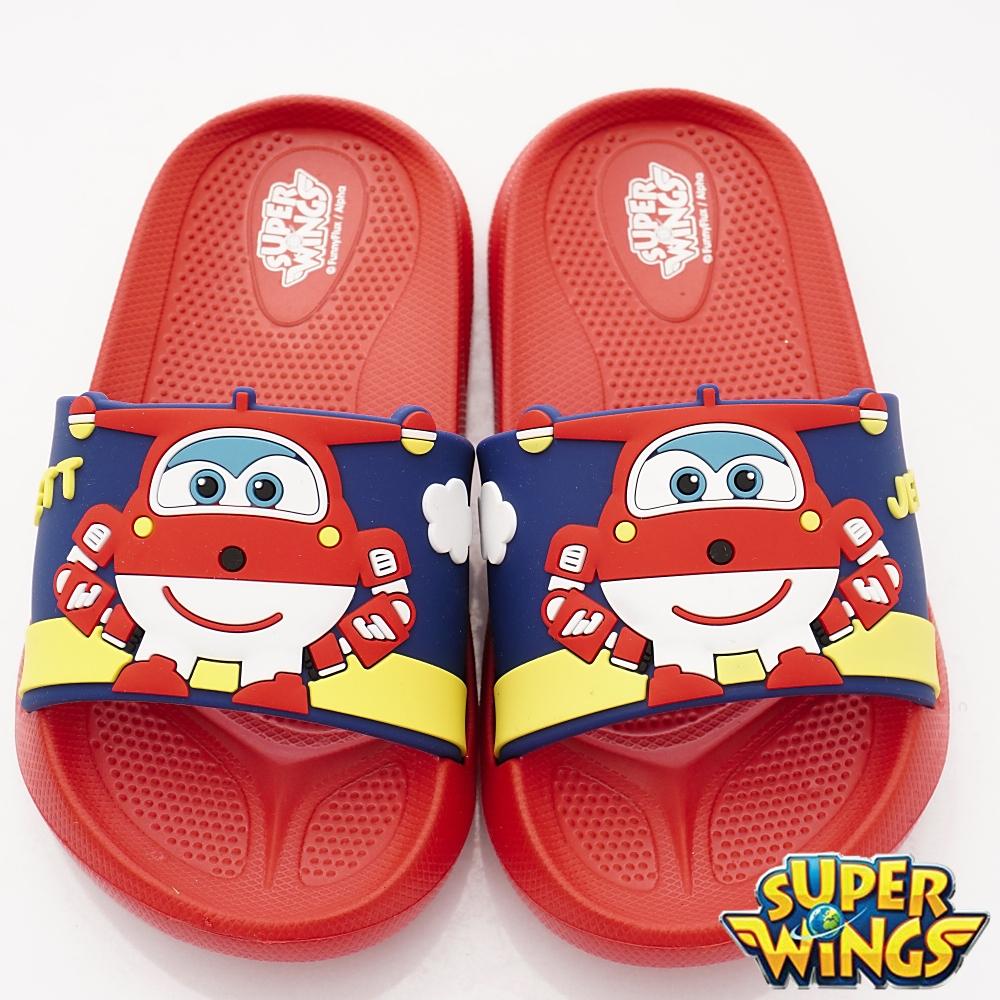SUPER WINGS 捷特超輕量涼鞋款 NI4704紅(中小童段)