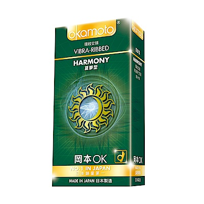 okamoto岡本-Harmony夏夢型保險套(10入)