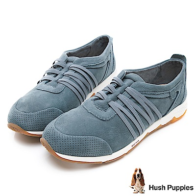 Hush Puppies CESKY 機能健走鞋-湖藍
