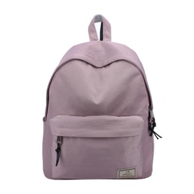 J II 後背包 原創水洗防潑水後背包-藕紫色-6293-3
