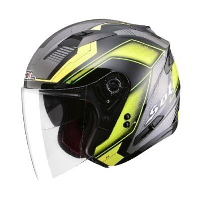 【iMiniDV】SOL+DV SO-7 星際 內建式 安全帽 行車紀錄器/黑/螢光黃