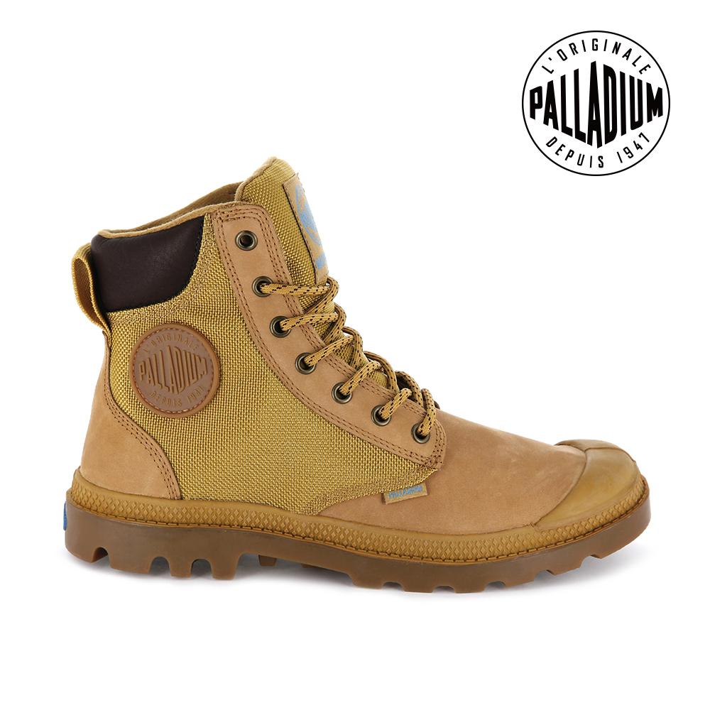 Palladium Pamp Sport Cuff WP防水靴-男-棕/焦糖