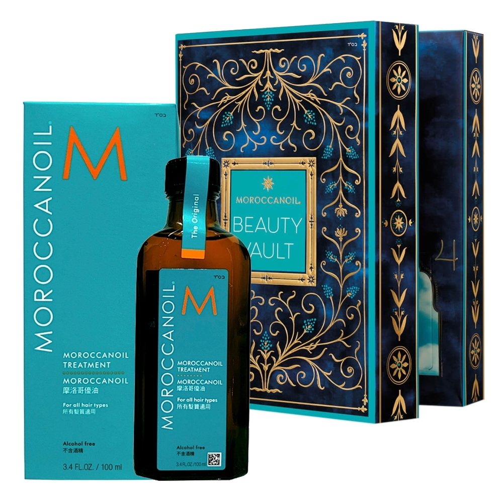 MOROCCANOIL摩洛哥優油 護髮油 100ml 加贈優油倒數禮盒