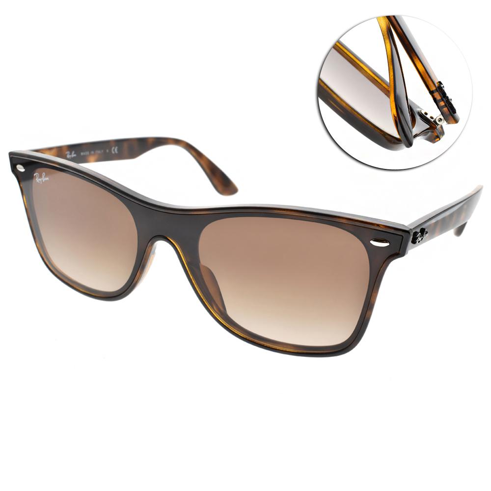 RAY BAN太陽眼鏡 百搭經典款/琥珀#RB4440NF 71013