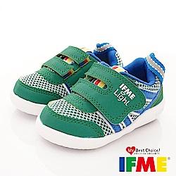 IFME健康機能鞋 超輕學步款 EI70213綠(寶寶段)
