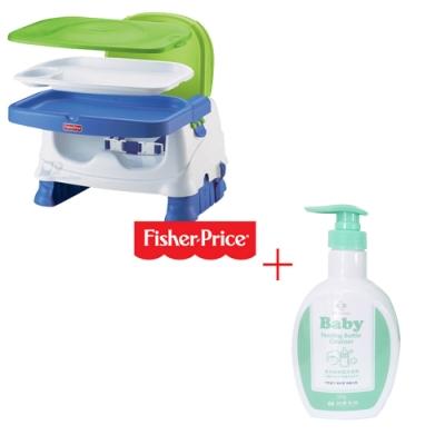 費雪牌 寶寶小餐椅+台塑生醫Dr s Formula 嬰幼童奶瓶洗潔劑罐裝1罐