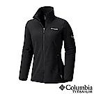Columbia哥倫比亞 女款-鈦Polar刷毛外套-黑色 UAR03290BK
