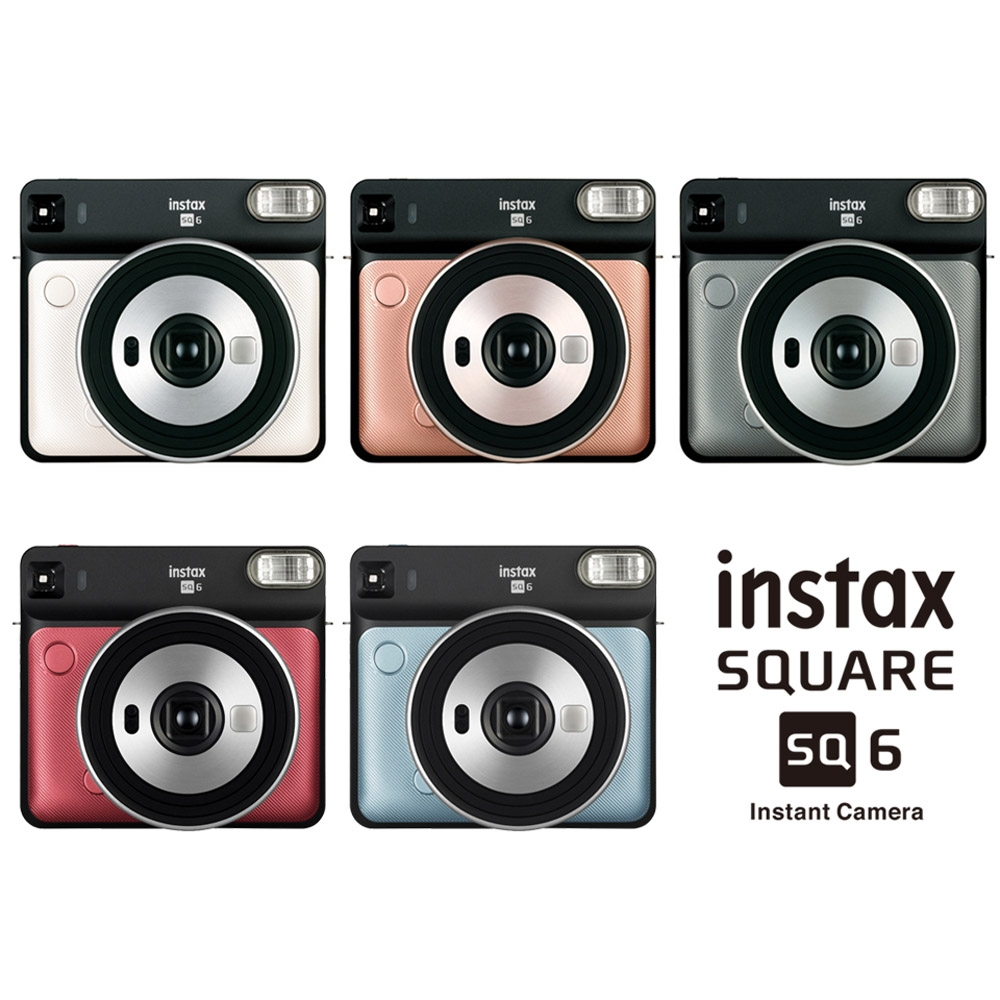 FUJIFILM 富士instax SQUARE SQ6 方形 拍立得相機 平行輸入