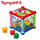 日本《樂雅 Toyroyal》透明聲光積木益智盒 product thumbnail 1