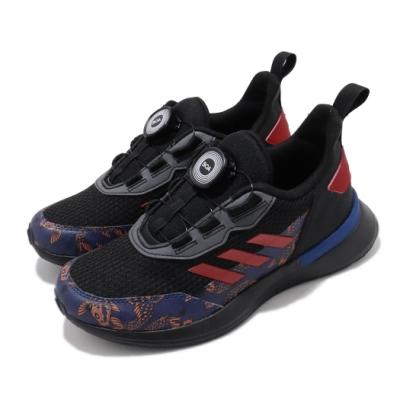 adidas 慢跑鞋 RapidaRun BOA CNY 童鞋