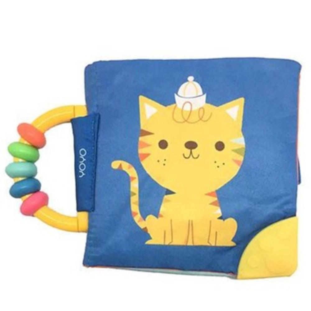 My Soft Rattle & Teether Book:Cat 我的趣味布書:貓咪