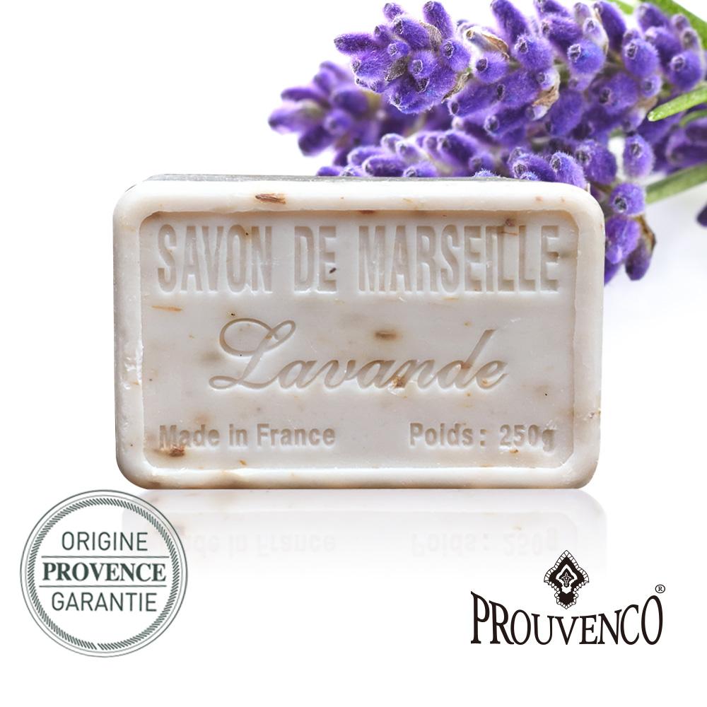法國PROUVENCO 普羅旺詩香氛馬賽皂-薰衣草花x1入