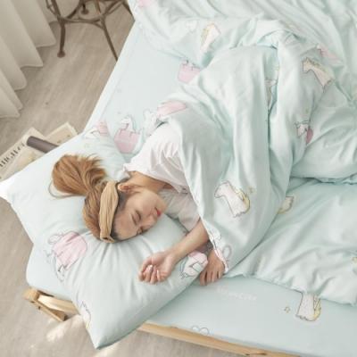 BUHO 舒涼TENCEL天絲雙人加大三件式床包枕套組(童幻奇夢)
