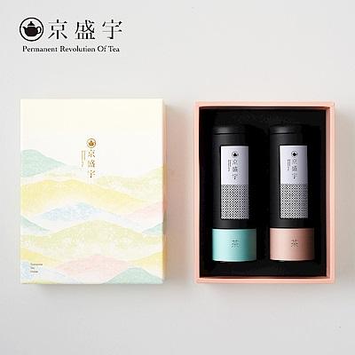 京盛宇 喜沐春光原葉袋茶禮盒(輕焙凍頂烏龍袋茶20入+高山小葉種紅茶袋茶15入)