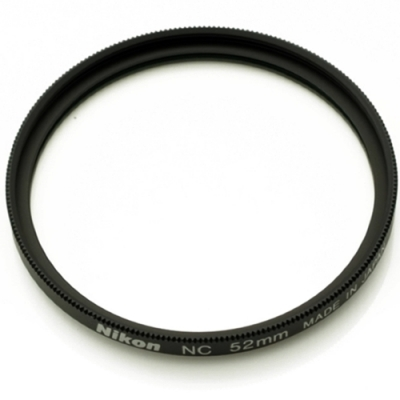Nikon原廠鏡頭保護鏡52mm,Neutral Color Fiter NC-52