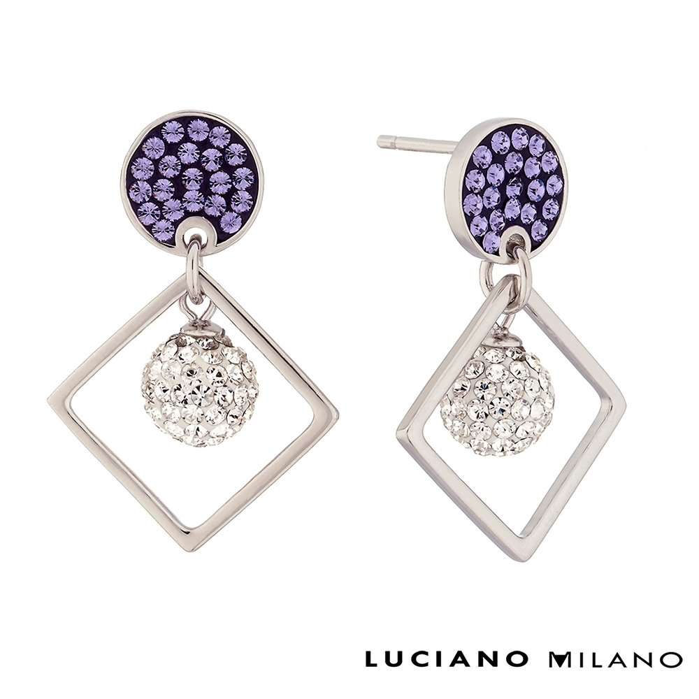 LUCIANO MILANO 著迷純銀耳環 product image 1