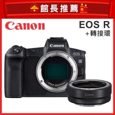Canon EOS R 單機身+轉接環 (公司貨)