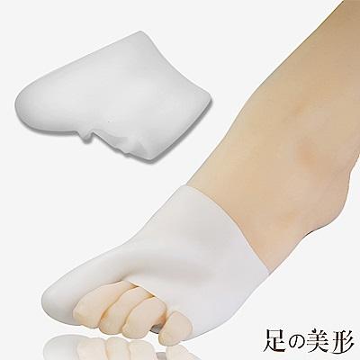 任選-足的美形 大姆指足尖分趾保護套 (1雙)