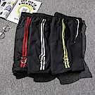 BuyGlasses 配色扣環運動休閒棉質短褲