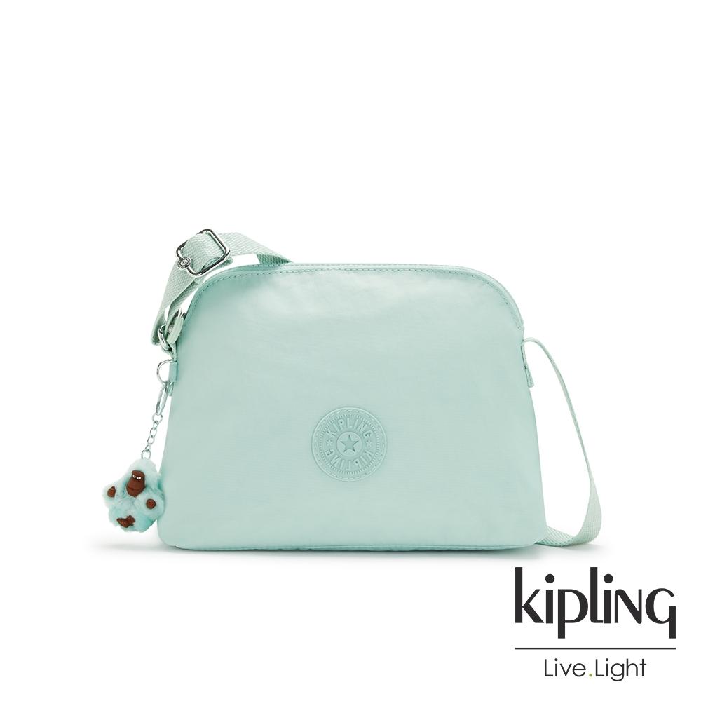 Kipling 神秘薄荷藍隨身斜背包-DIEP
