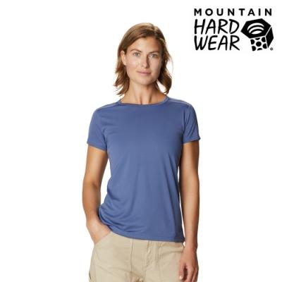 【美國 Mountain Hardwear】Wicked Tech  Short Sleeve T 防曬快乾短袖排汗衣 女款 北境藍 #1924961