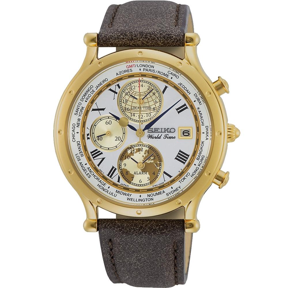 SEIKO AGE OF DISCOVERY 航海30周年限量錶(5T82-0AL0K)SPL060P1/40mm