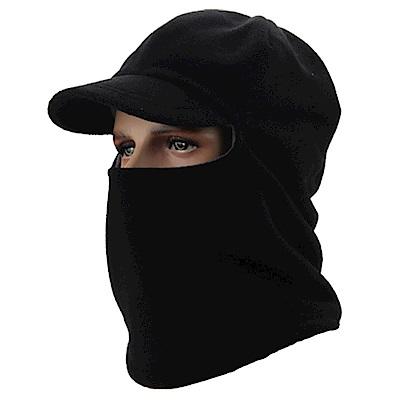 PUSH!戶外休閒用品抓絨防風帽加絨加厚帽保暖帽子騎行滑雪套頭帽H28