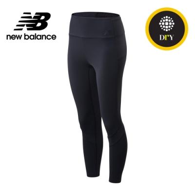 【New Balance】NB DRY 高腰七分緊身褲_女性_黑色_WP01141BK
