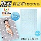 Lolbaby Hi Jell-O涼感蒟蒻床墊加大_涼嬰兒兒童床墊(檸檬西瓜)