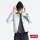 Levis 男款牛仔外套 Type3經典修身 Sherpa棉花絨 淺藍洗白
