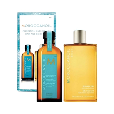 MOROCCANOIL摩洛哥優油 沐浴限量禮盒(護髮油125ml+沐浴膠250ml)
