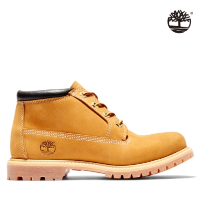 Timberland 女款小麥黃經典防水短靴|23399