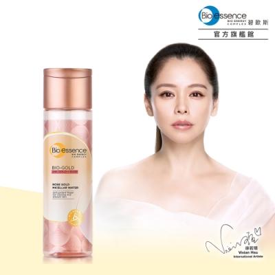 Bio-essence碧歐斯 BIO金萃玫瑰黃金活顏卸妝水190ml