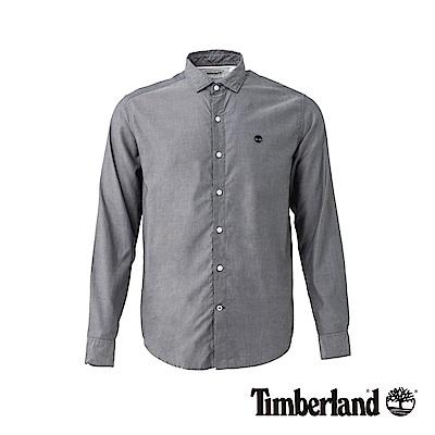 Timberland 男款黑色 Lane River 長袖襯衫 |A1UQ9