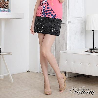Victoria 短A字裙-女-黑色