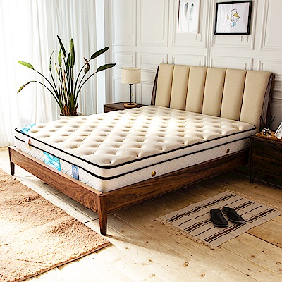 時尚屋 納德倫頂級舒柔三線5尺雙人獨立筒彈簧床墊