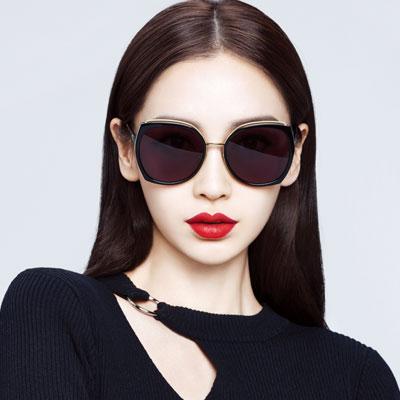 MOLSION太陽眼鏡 Angelababy代言/黑-金#MS6055 A10