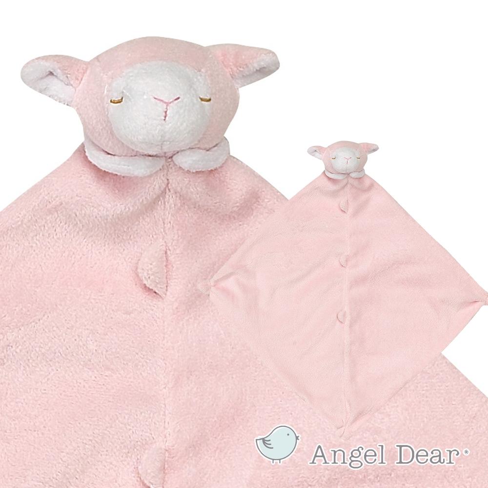 Angel Dear 動物嬰兒安撫巾 (粉紅小羊)