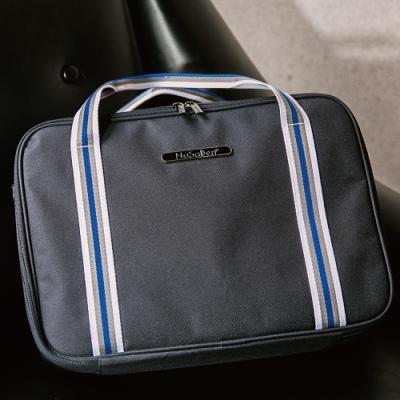 【NaSaDen】雪佛包 肩背/手提/穿套行李箱 相當一個16吋的行李箱(午夜藍)
